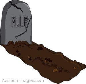 Grave clipart 3