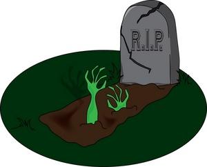 Grave clipart 4