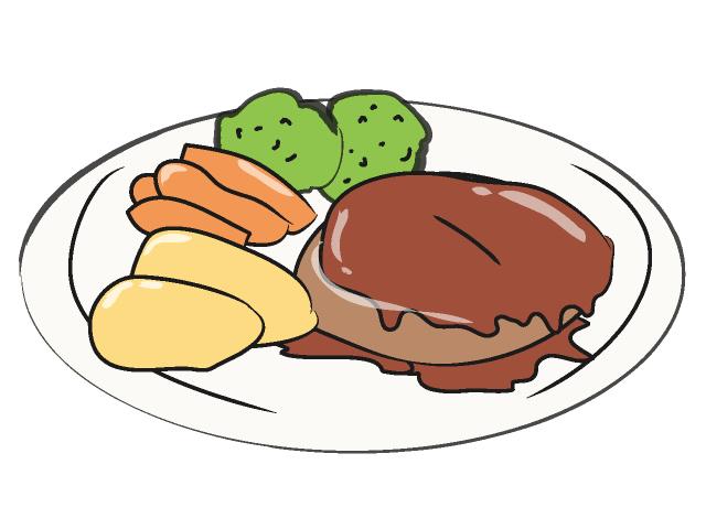 Hamburger steak clip art free clipart images
