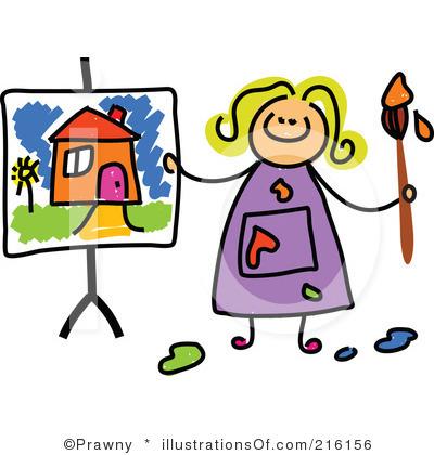 Image free clip art of artist
