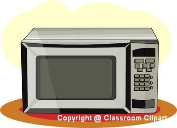 Inventions microwave classroom clipart