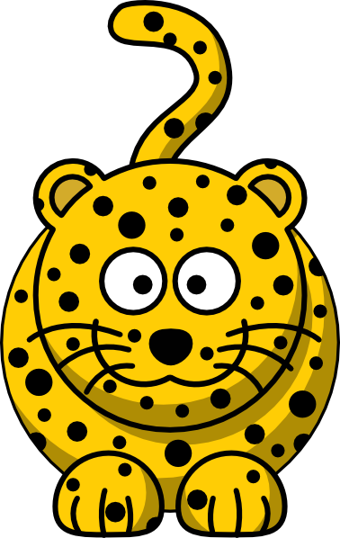 Jaguar cartoon clipart