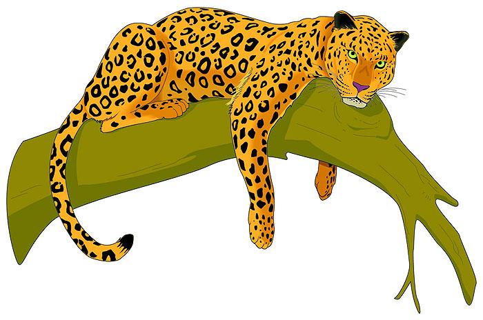 Jaguar clip art vector free clipart images 2