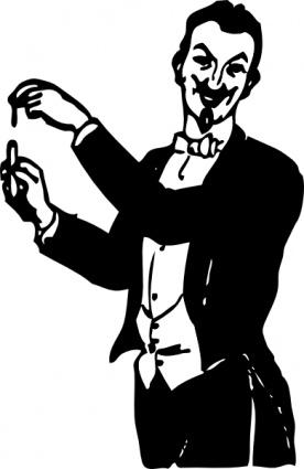 Magician clip art vector magician graphics