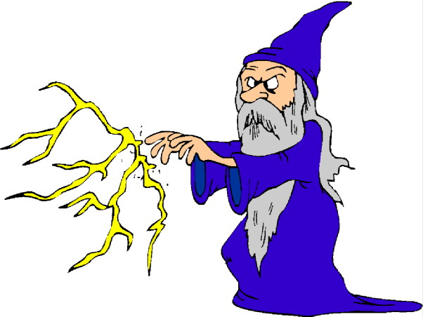 Magician pic clip art magie
