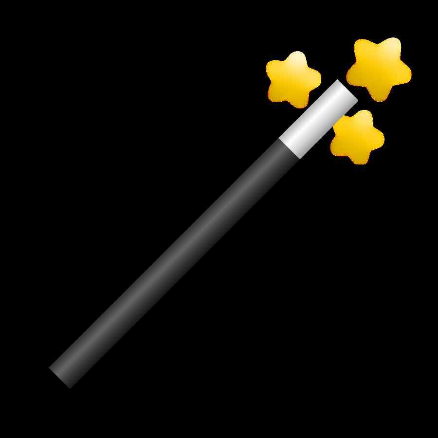 Magician wand clipart