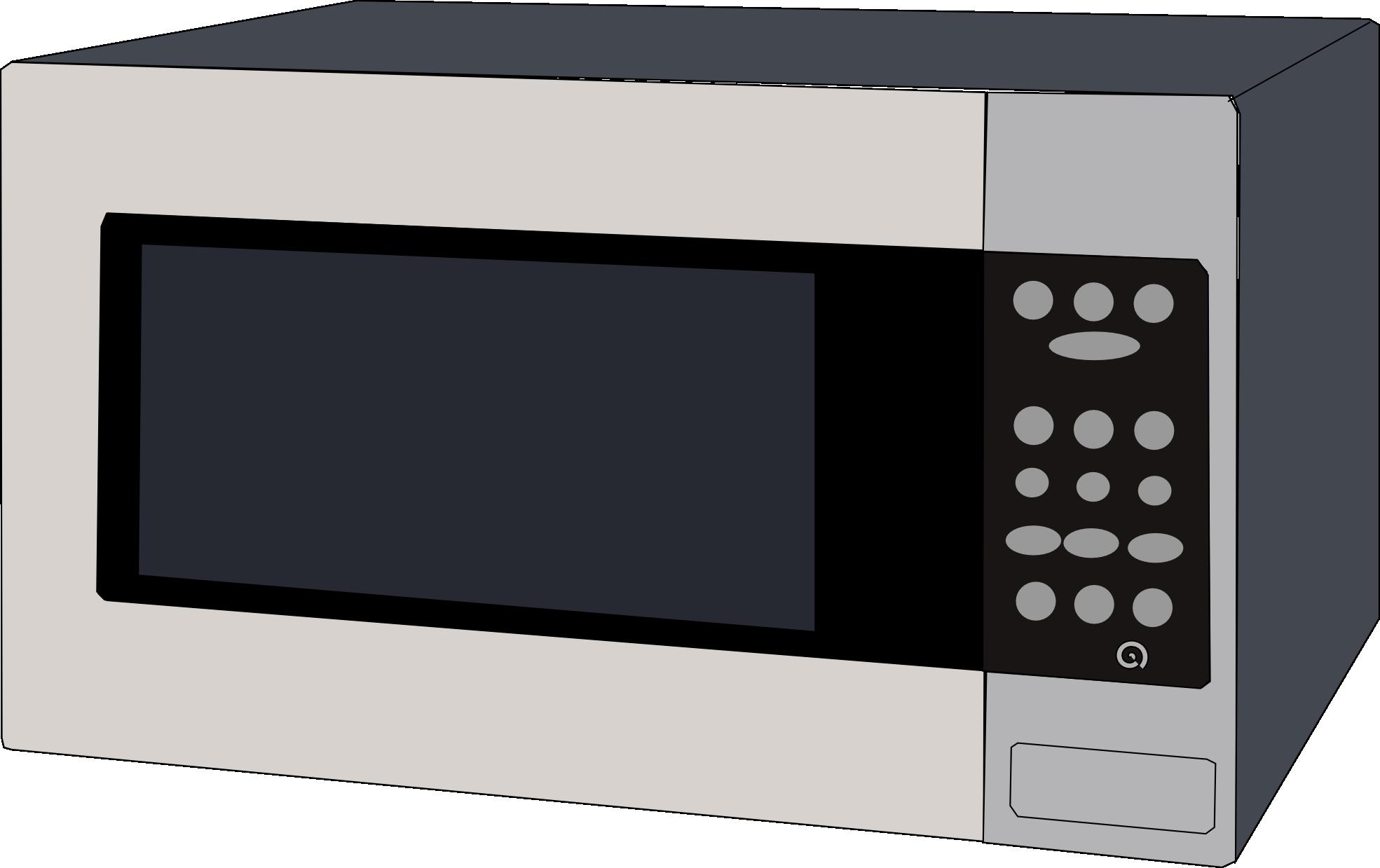 Microwave clip art