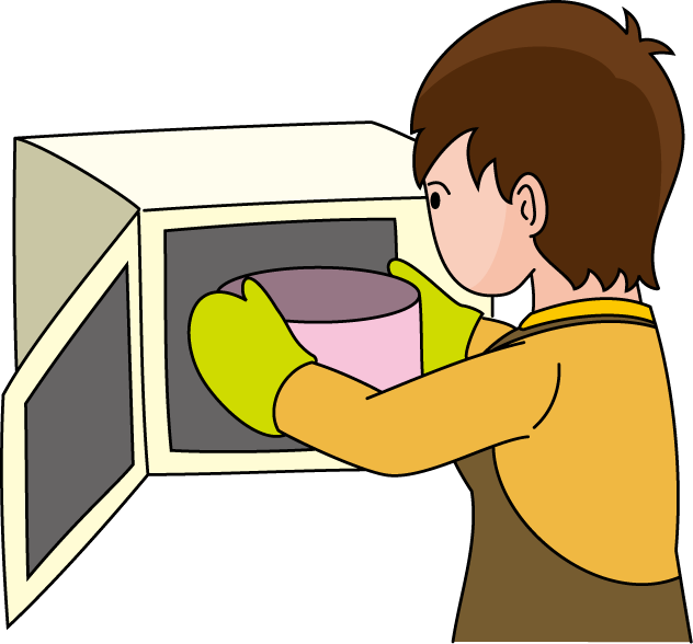 Microwave clipart clipart