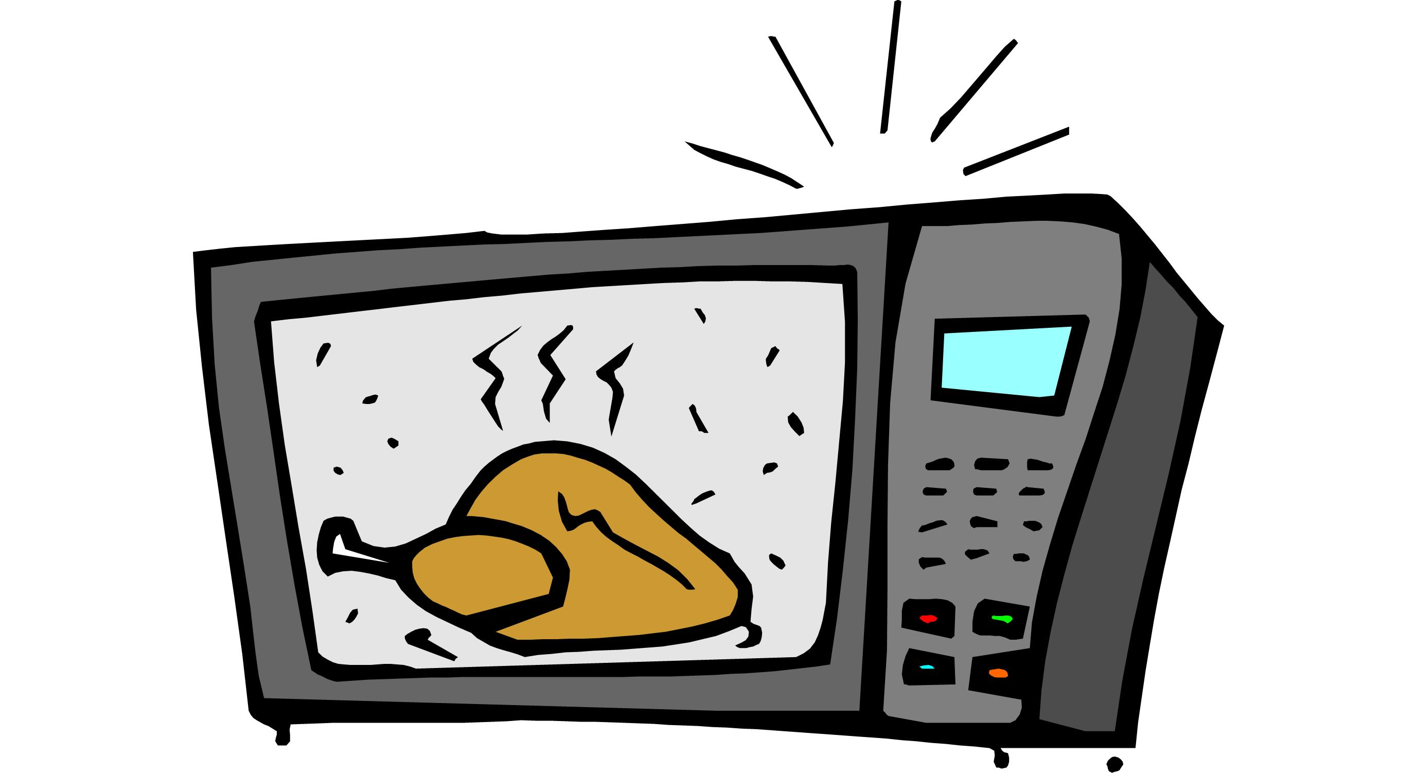 Microwave clipart free clipart images 2
