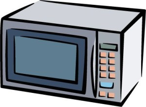 Microwave clipart free clipart images