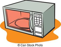 Microwave son clipart