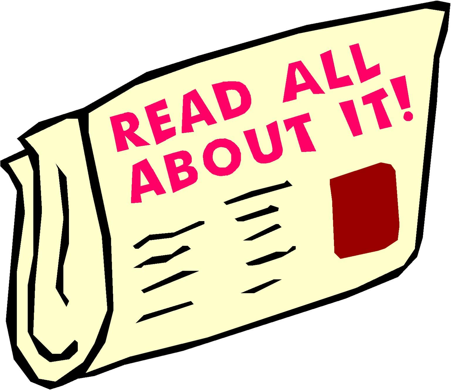 monthly newsletter tayler clip art - Kindergarten News Clipart
