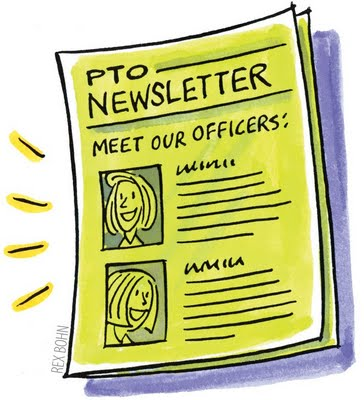 Newsletter image free pto school clip art