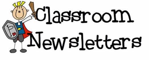 Image result for classroom newsletter