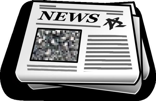 Newsletter newspaper clipart
