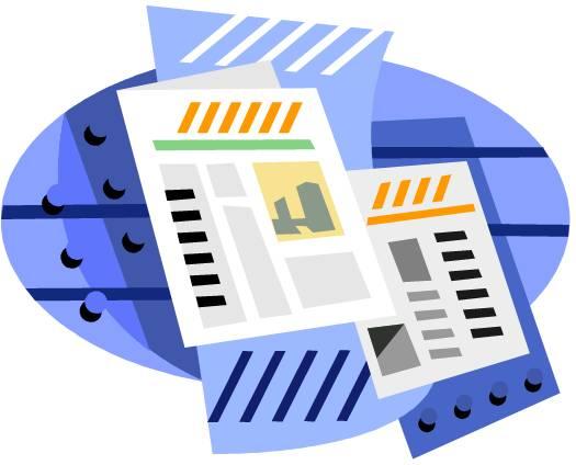 Newsletter student handbook student handbook clipart