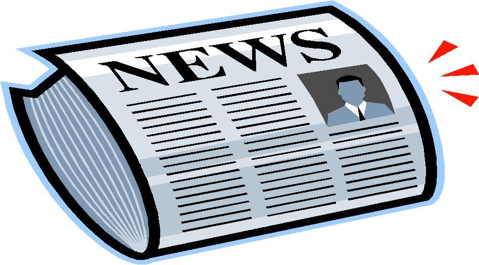 Newspaper newsletter clip art 2