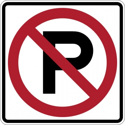 No parking sign clip art free vector in open office drawing svg