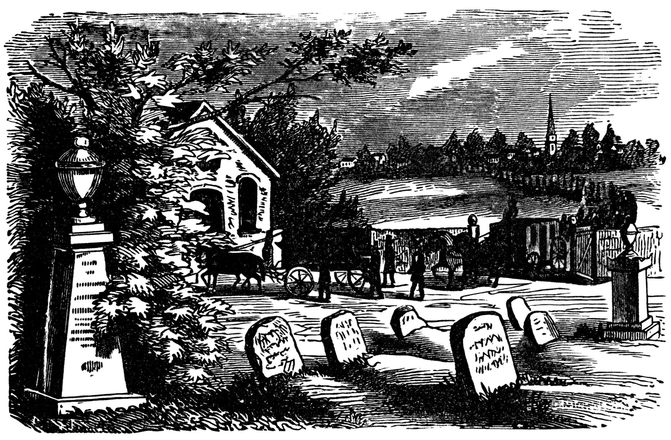Pictures grave yard clip art
