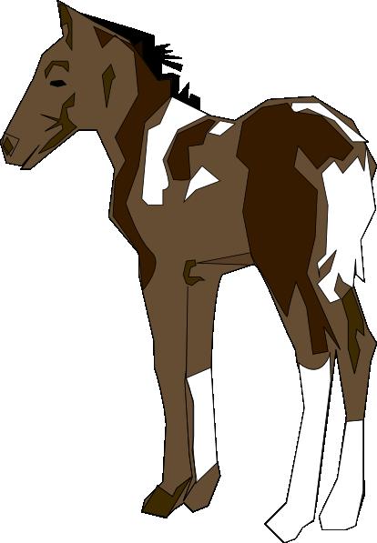 Pony clip art at vector clip art free