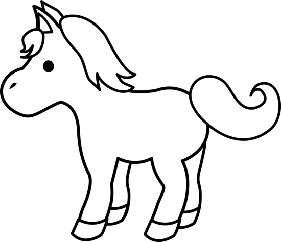 Pony clipart free clipart images 2