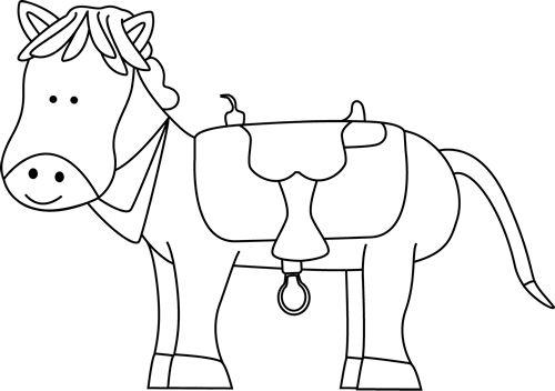 Pony horse clip art