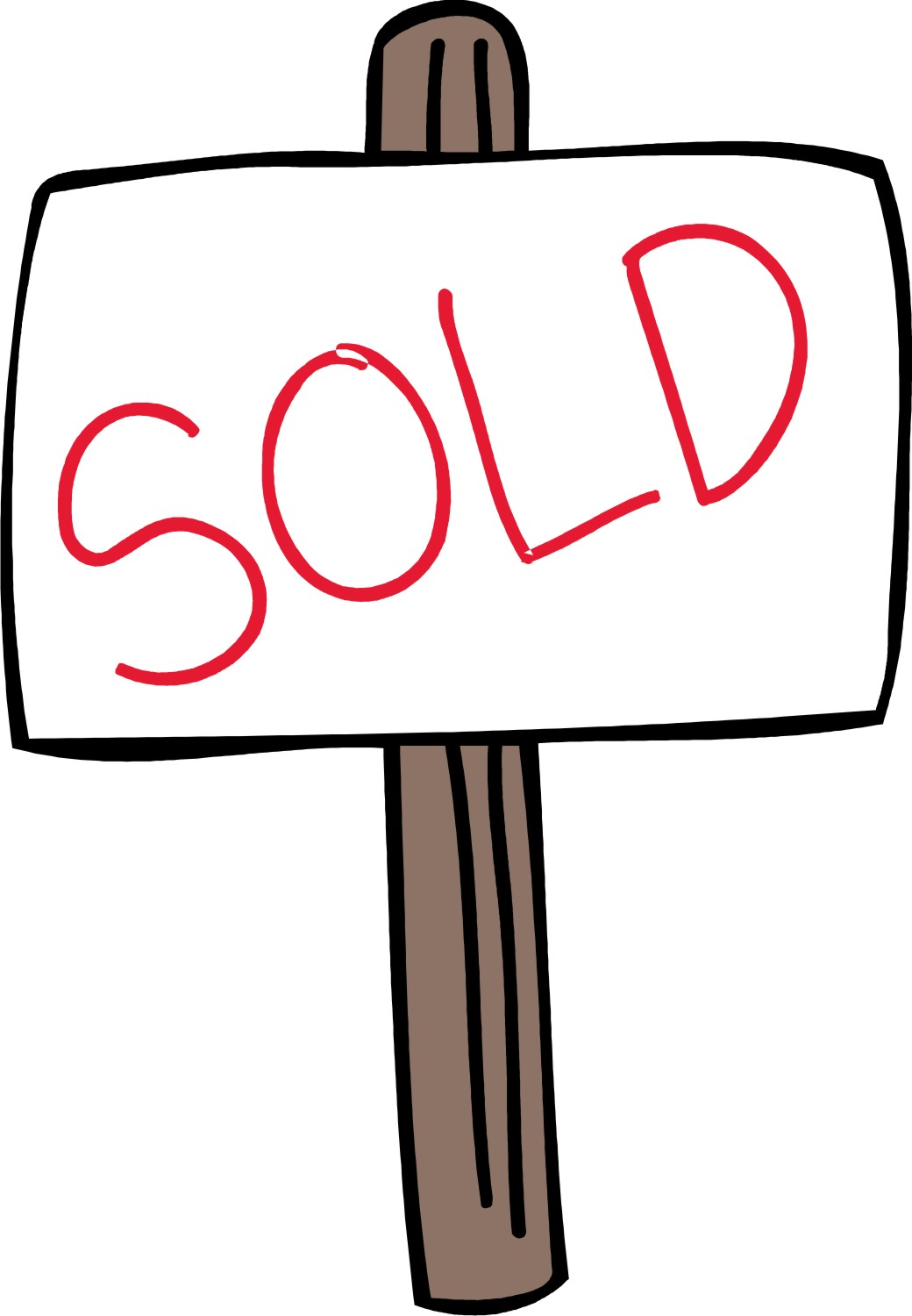 Sold sign clipart 4 sold sign clip art