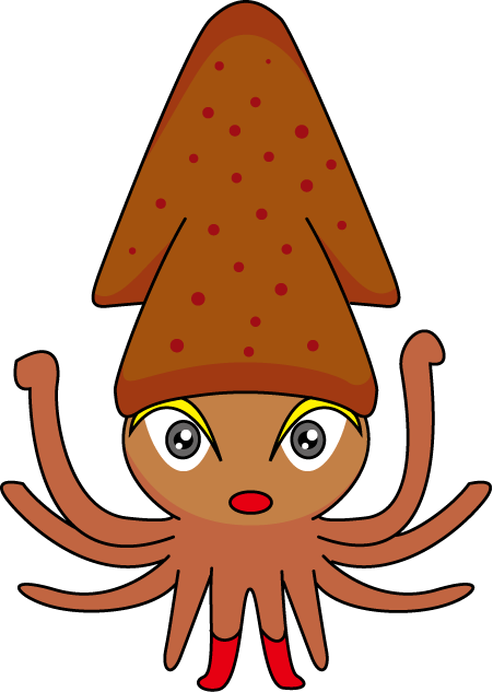 Squid clipart free clipart images 2