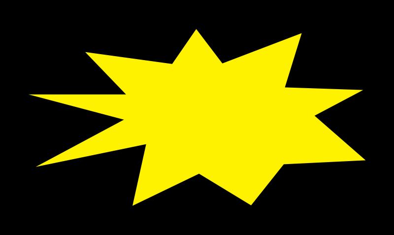 Starburst clip art vector free clipart