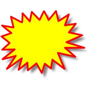 Starburst images clipart