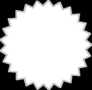Starburst outline clip art vector clip art free
