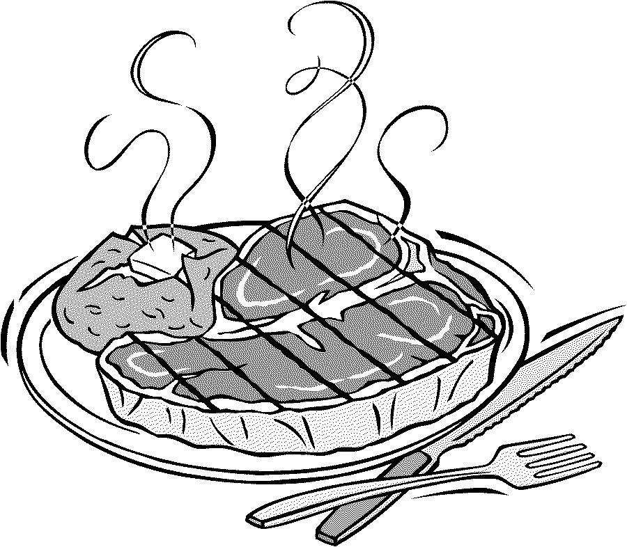 Steak dinner clipart tips home design