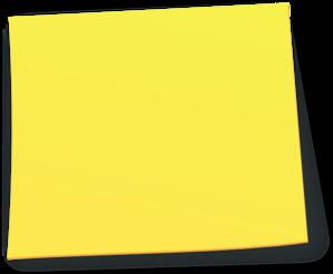 Sticky note clip art at vector clip art