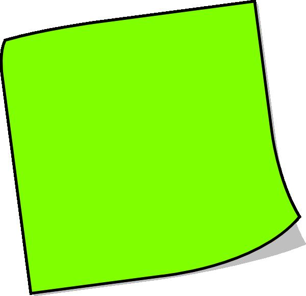 Sticky note clip art clipart