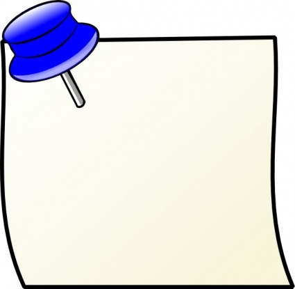 Sticky note post it note image clipart