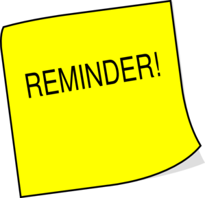 Sticky note reminder clip art at vector clip art