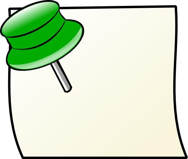 Sticky notes clipart free clipart images