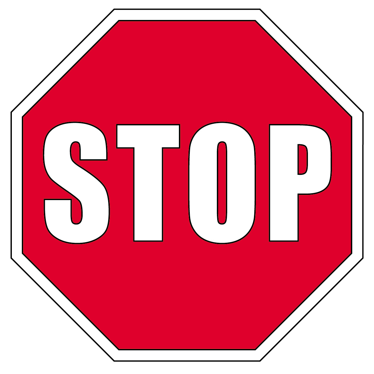 Stop sign clip art microsoft free clipart images 2