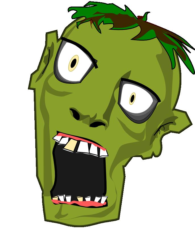 Zombie clip art  3