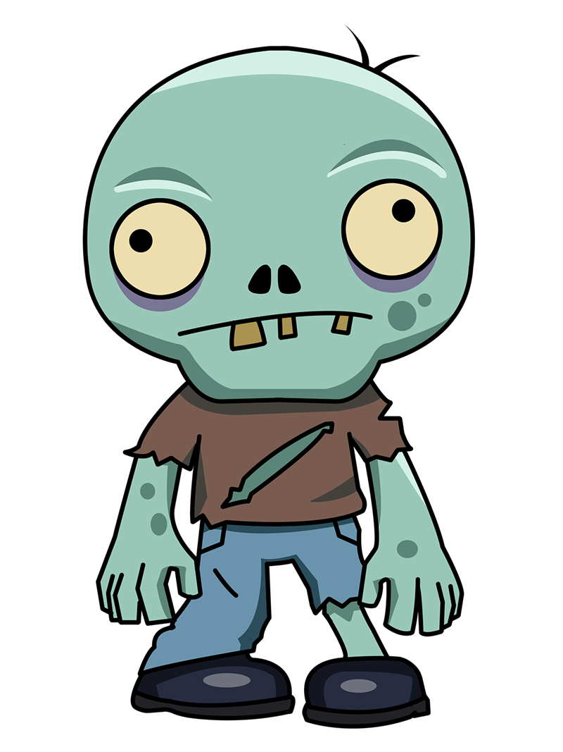 Zombie clip art  4