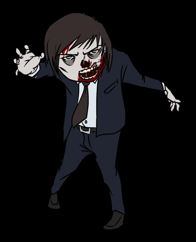 Zombie clip art  5