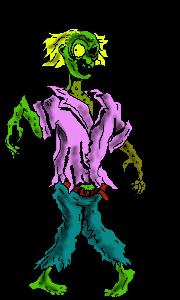Zombie clip art  6
