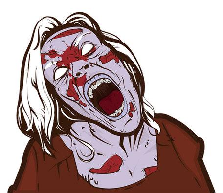 Zombie clip art vector zombie graphics