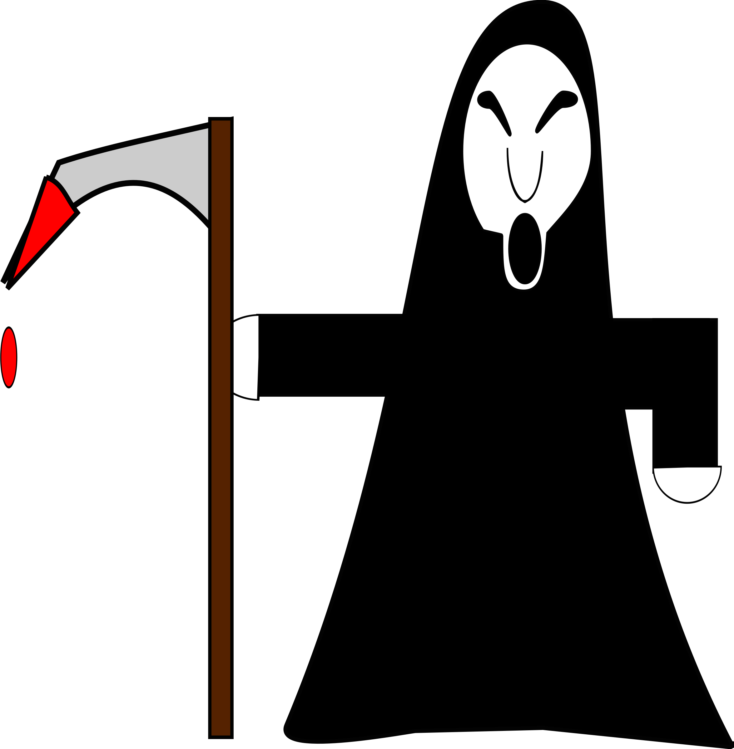 Clipart grim reaper