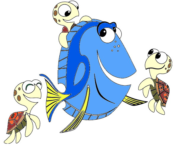Finding nemo clip art free clipart images cool