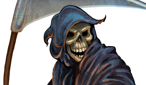 Grim reaper clipart vector genius 2
