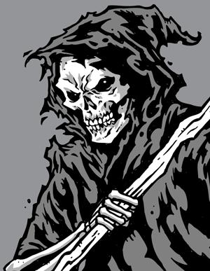 Grim reaper clipart vector genius 4