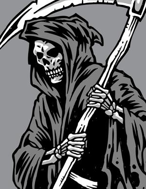 Grim reaper clipart vector genius