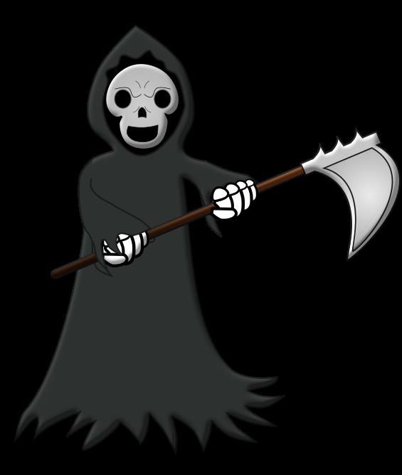 Grim reaper3 clip art