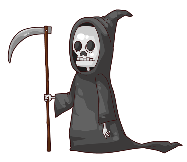 Grim reaper4 clipart